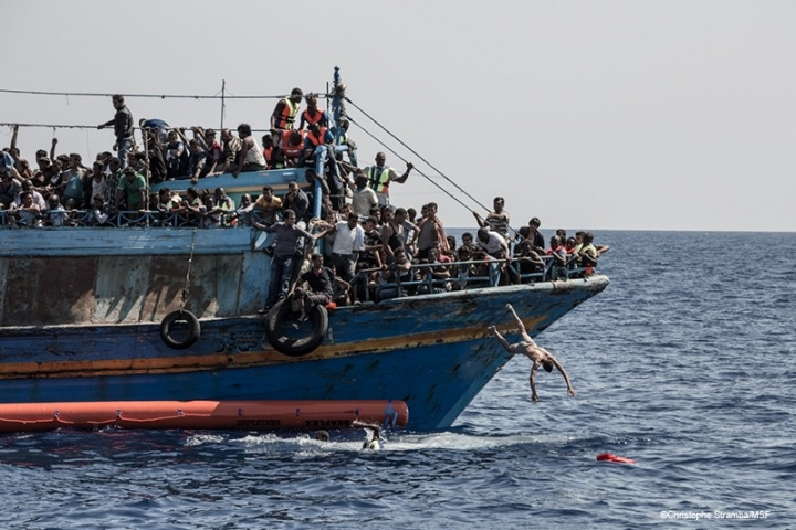 Migration crisis in the Med