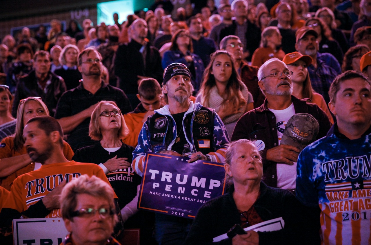 Trump supporters for Getty