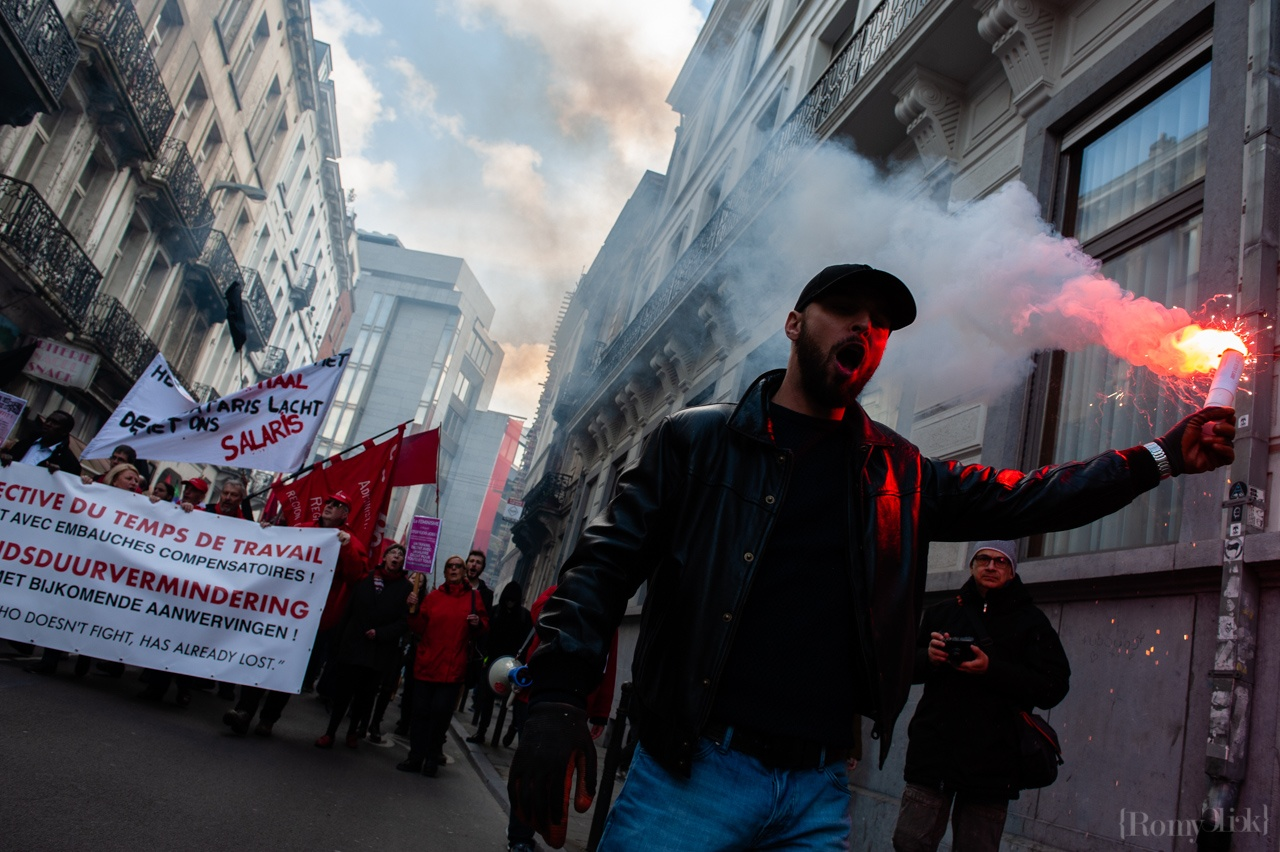 May Day celebration, Brussels