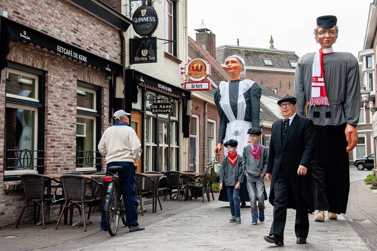 The giant Jas de Keistamper showed up in Boxtel