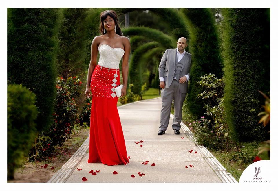 Wedding Post Shot