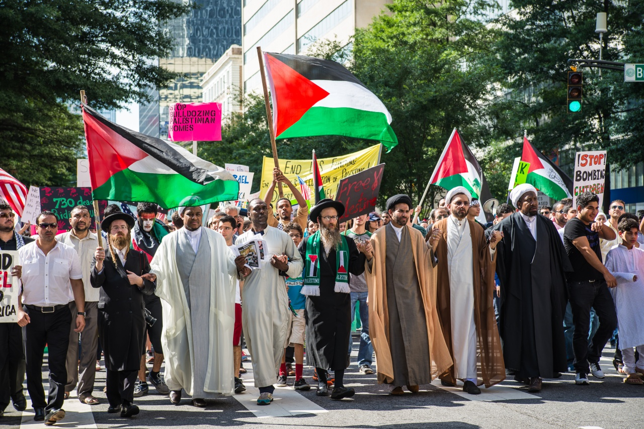 March in support of Palestine