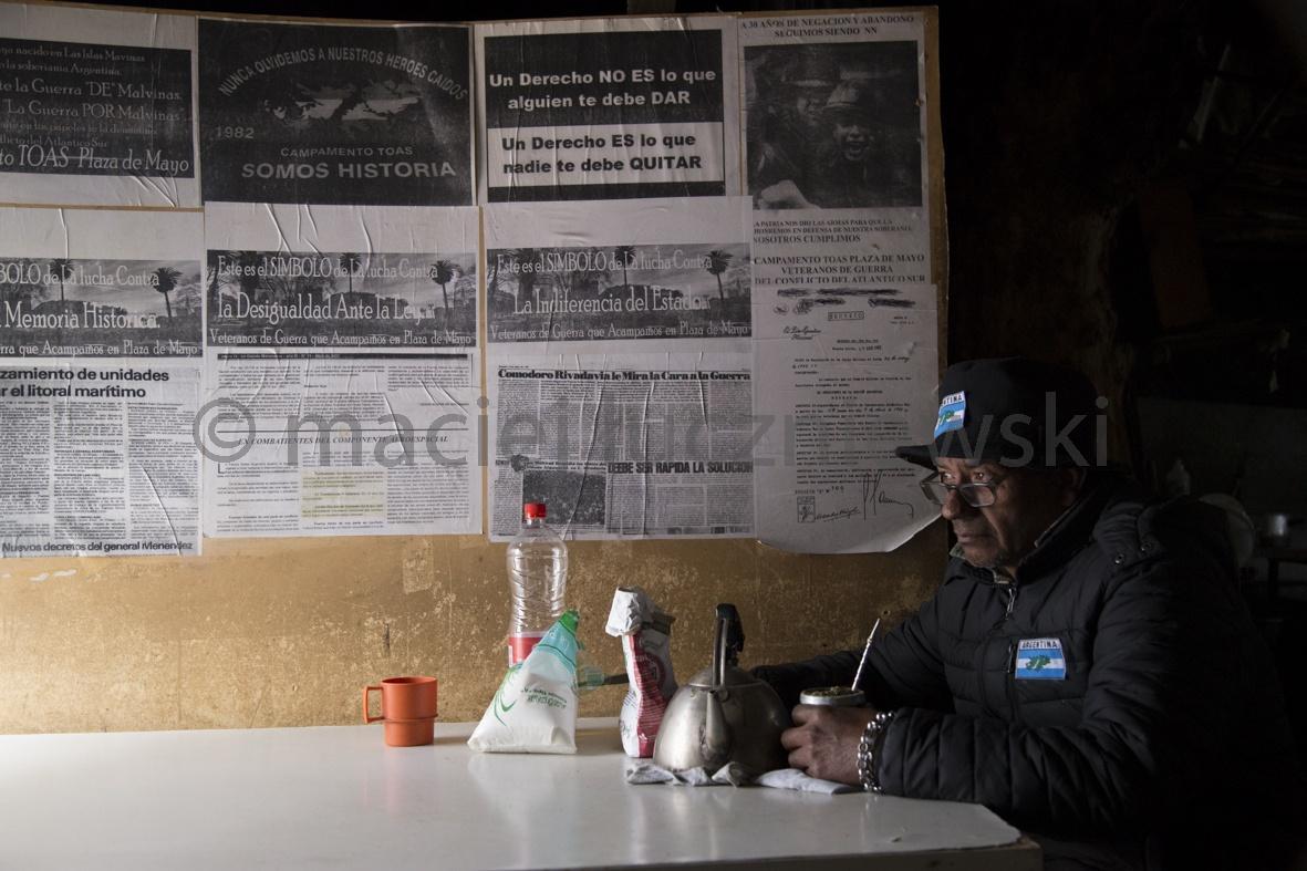 Argentinian Falklands War veteran