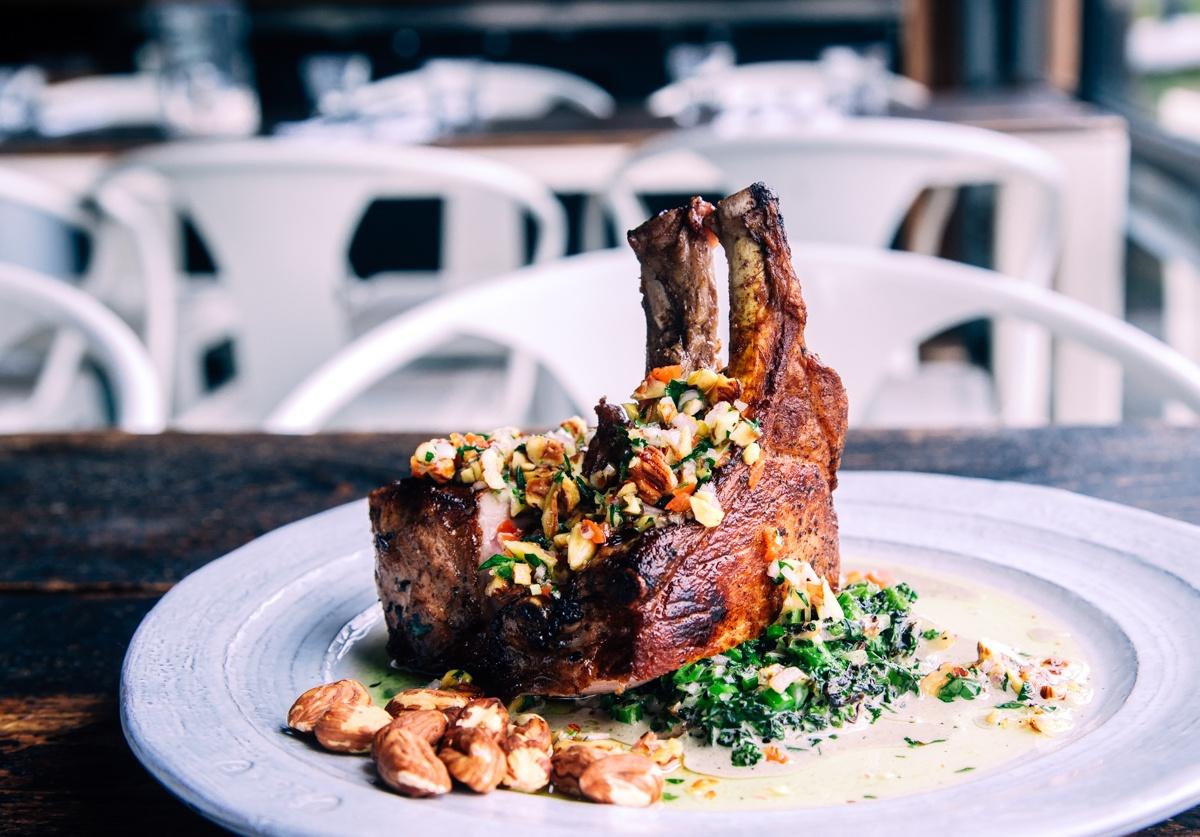 Pork Chop | Hazelnut Gremolata