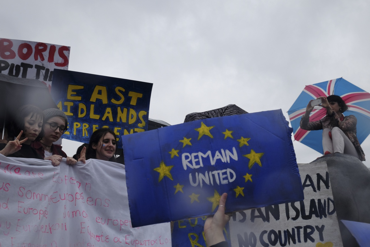 Anti-Brexit rally, London