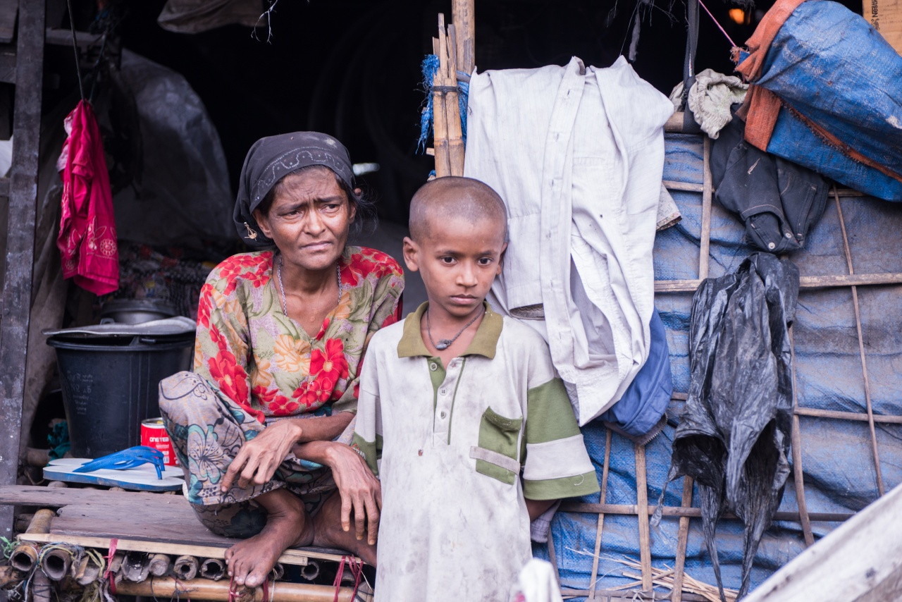 Rohingya Mother & Son
