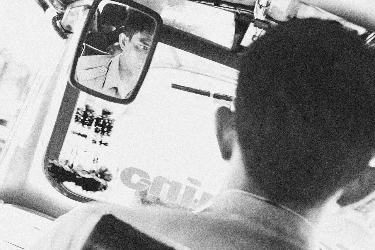 Tribute to Alexander Rodchenko's Chauffeur