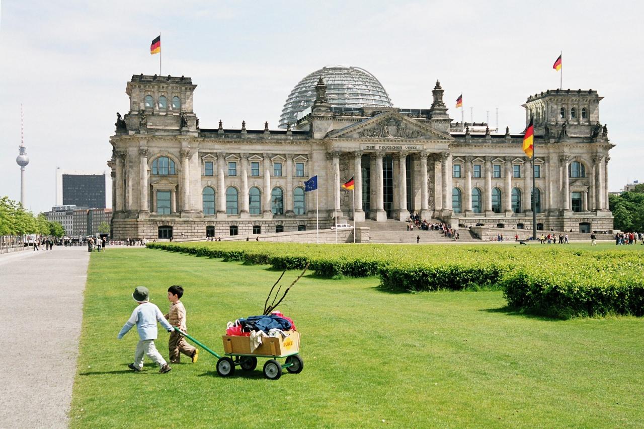 Summer at Reichstag