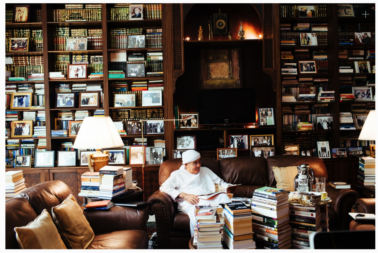 The Sheikh's translator- For Brownbook Magazine