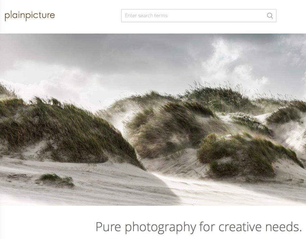 plainpicture website