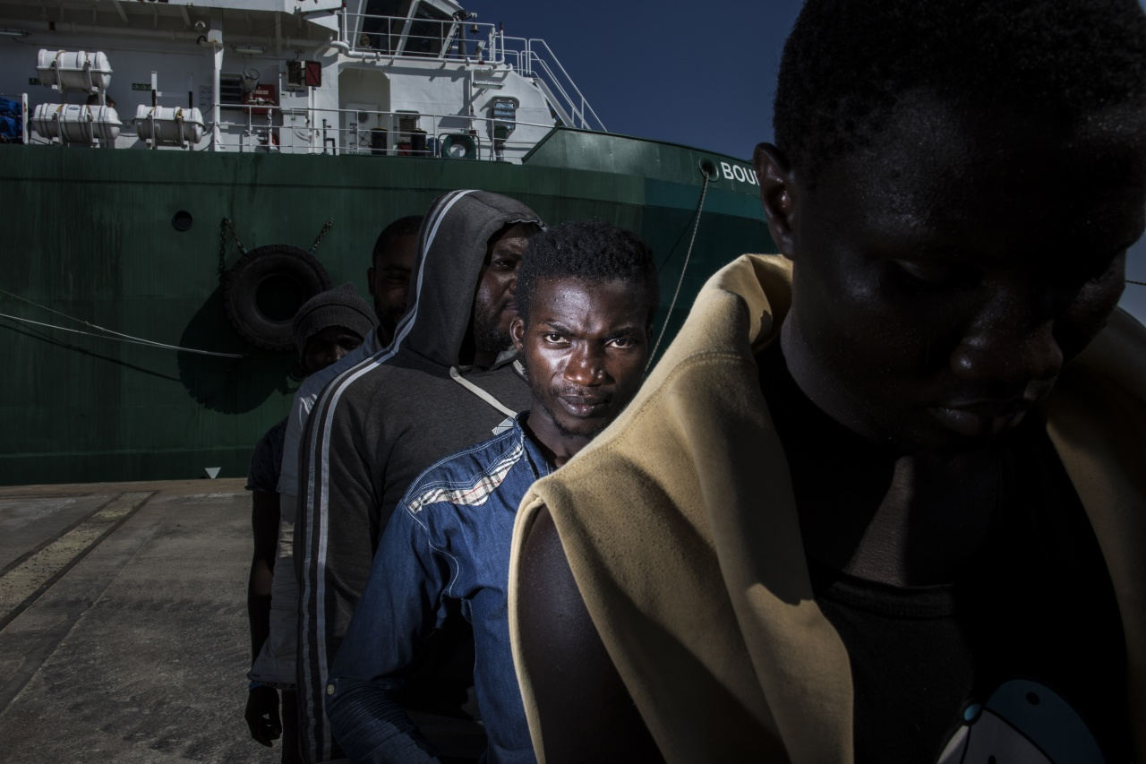 Migrant crisis in Sicily