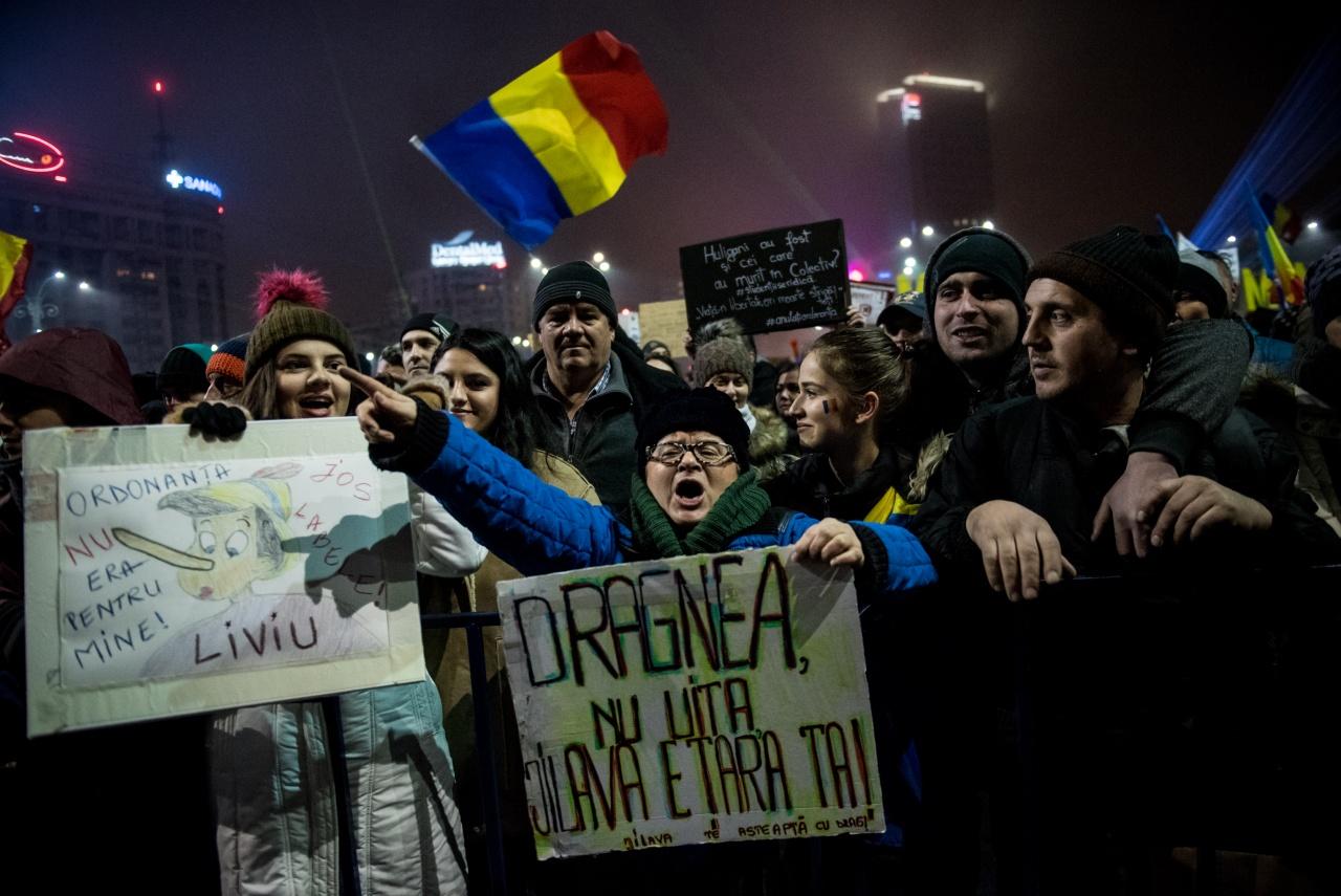 Bucharest - Unrest