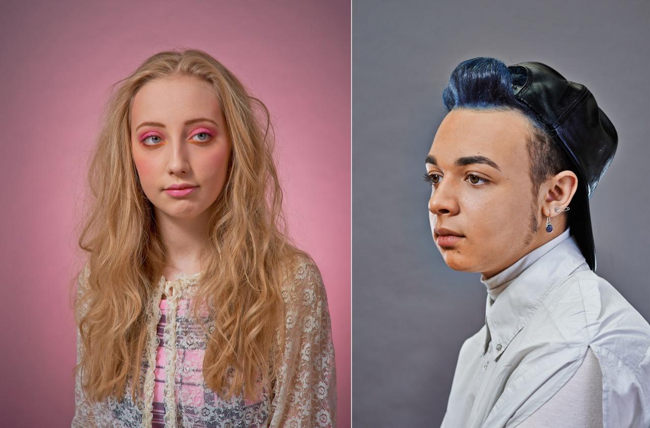 Teenage identity series