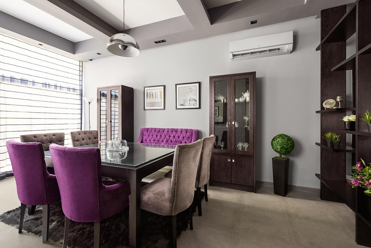 Dining room, Waterway villa