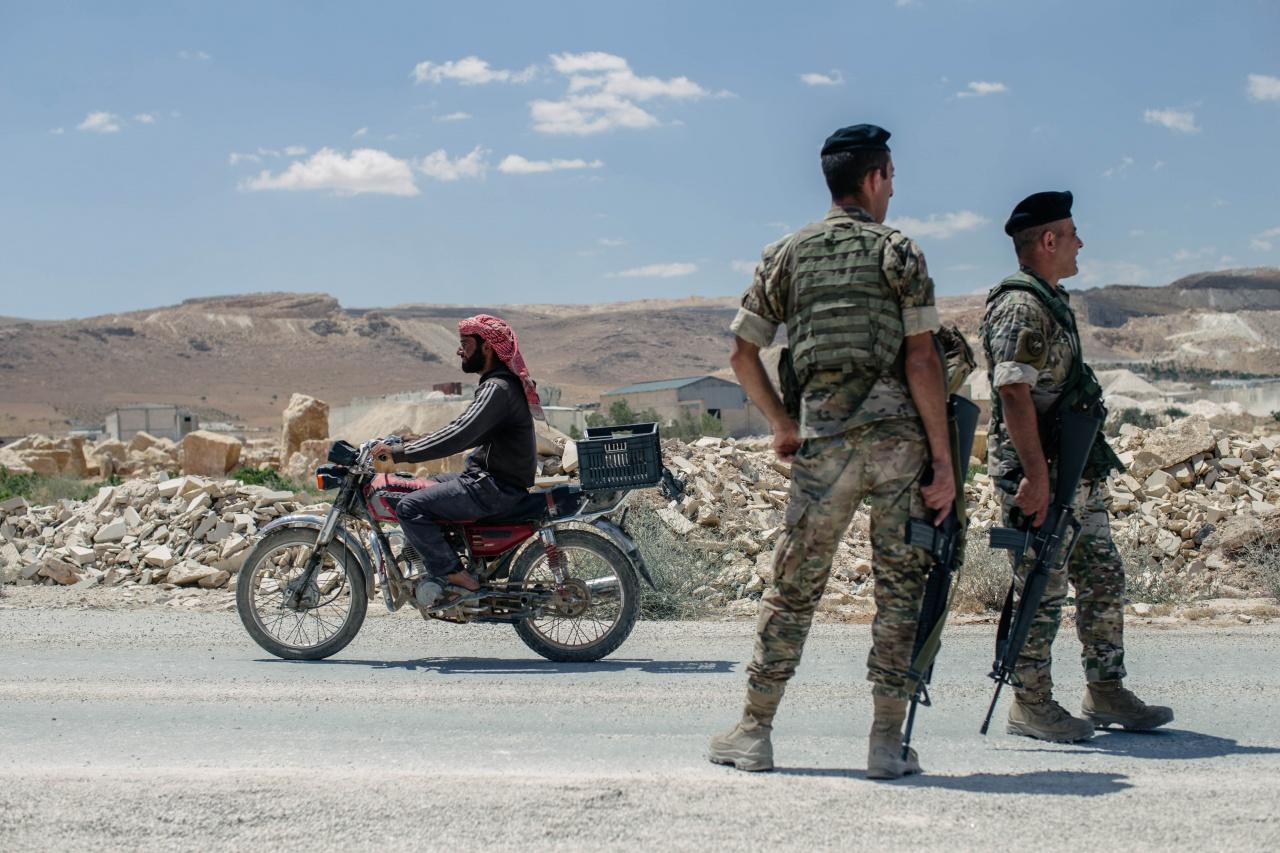 Syria-Lebanon border