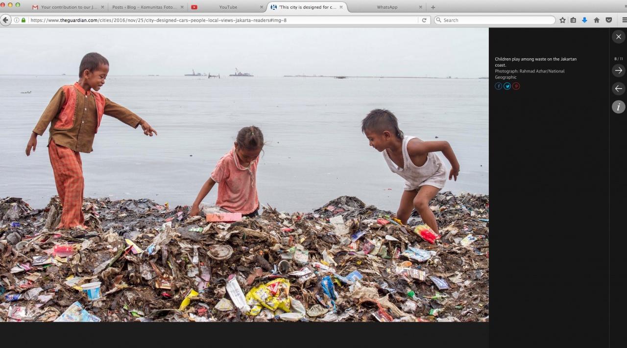 Jakarta Garbage Pollution