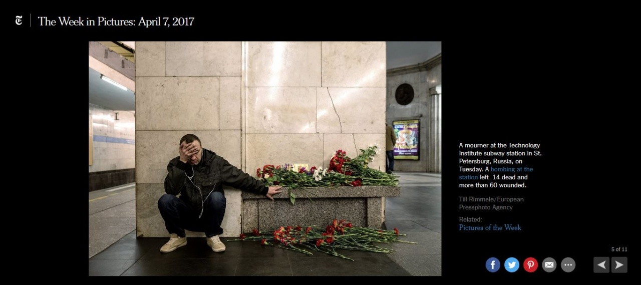 St. Petersburg Metro Attack