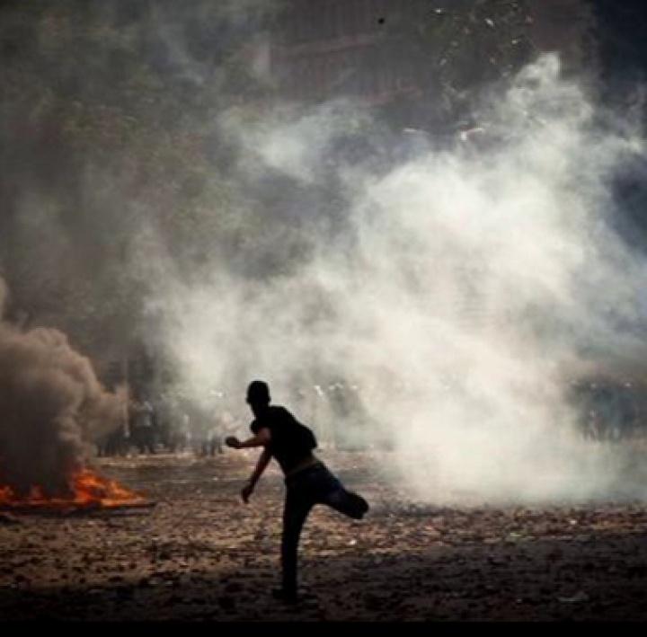 Photojournalist GoPro POV in Egypt Clashes