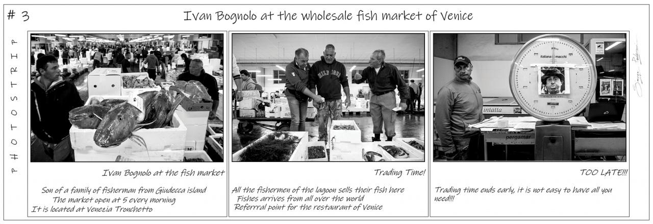Photo Strip #3 - Ivan at the wholesale fishmarket