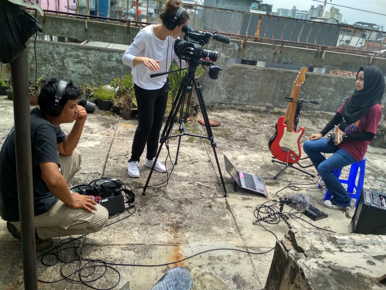 Sound recording for Hijab metal