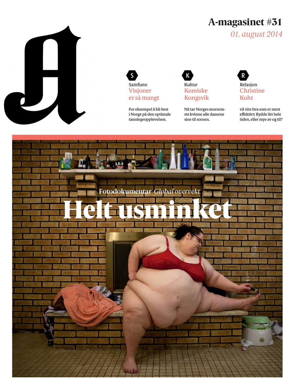 Publication in A-Magasinet - Aftenposten (Norway)
