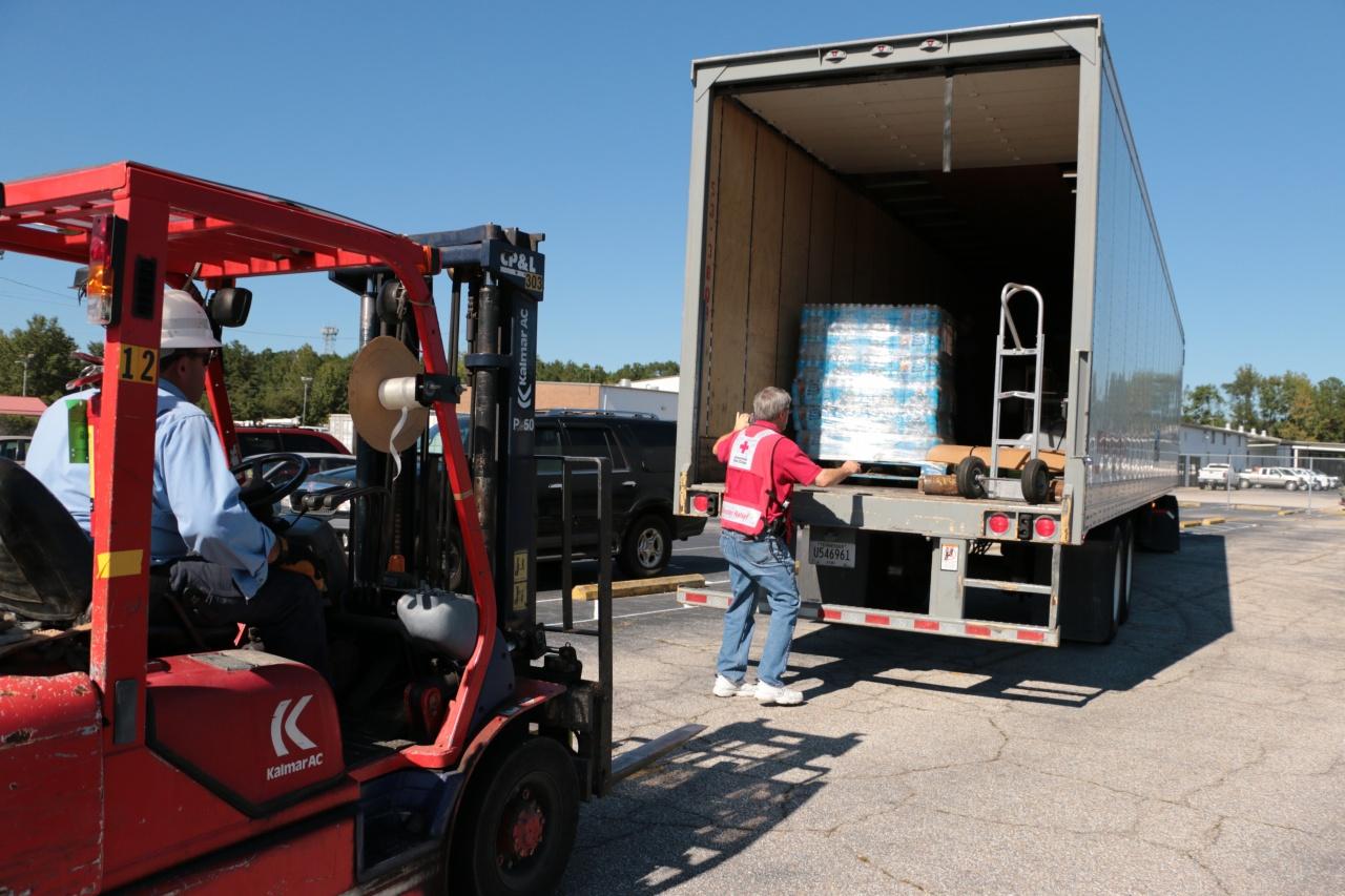 Red Cross flood response
