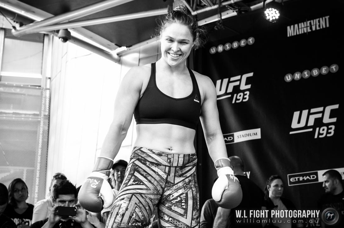 UFC 193 [Media Days]