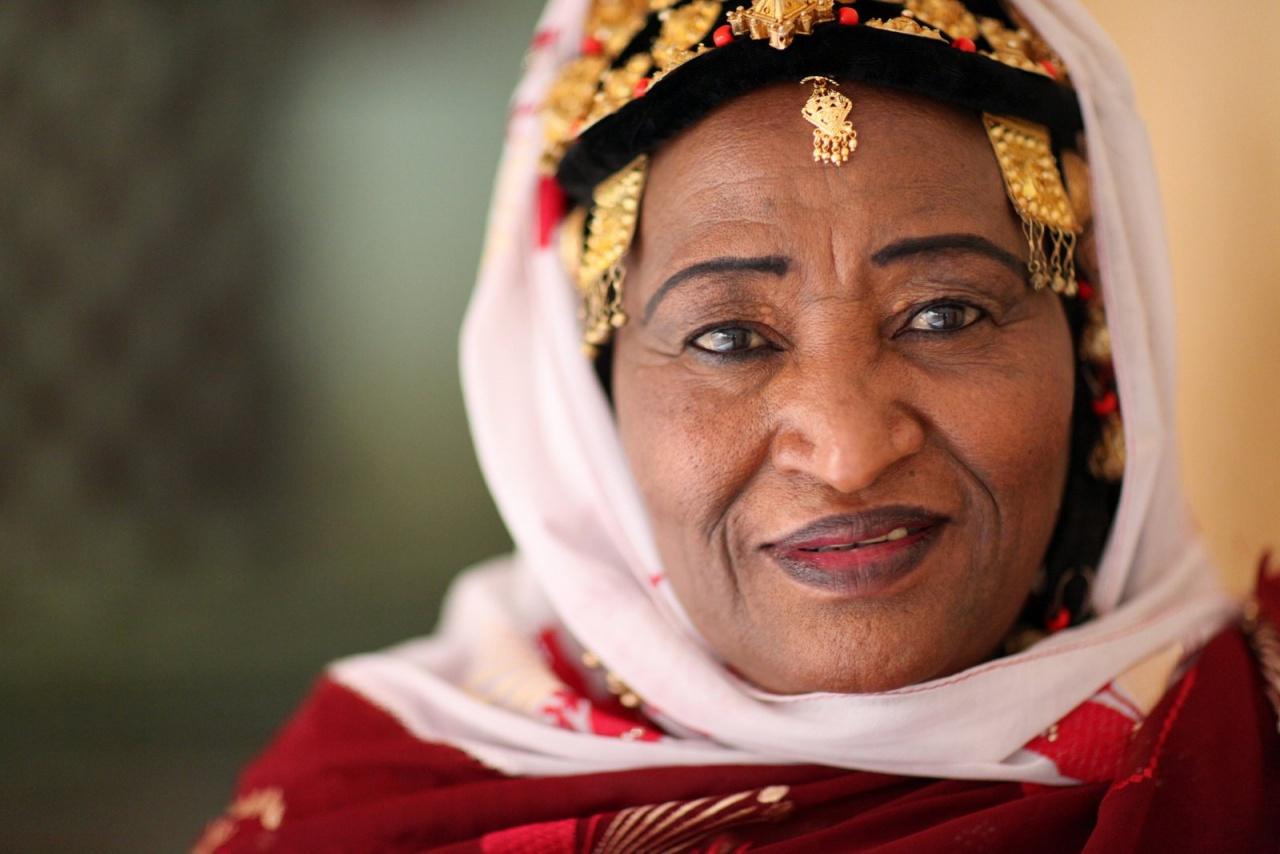 Khaïra Arby, singer from Timbuktu