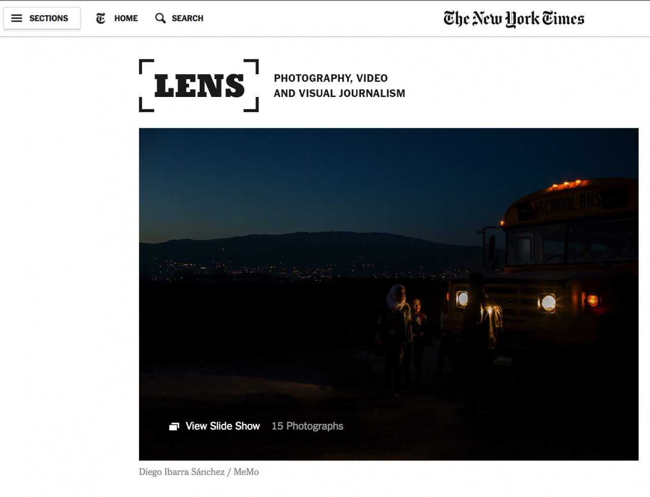 Hijacked education on LENS-THE NEW YORK TIMES