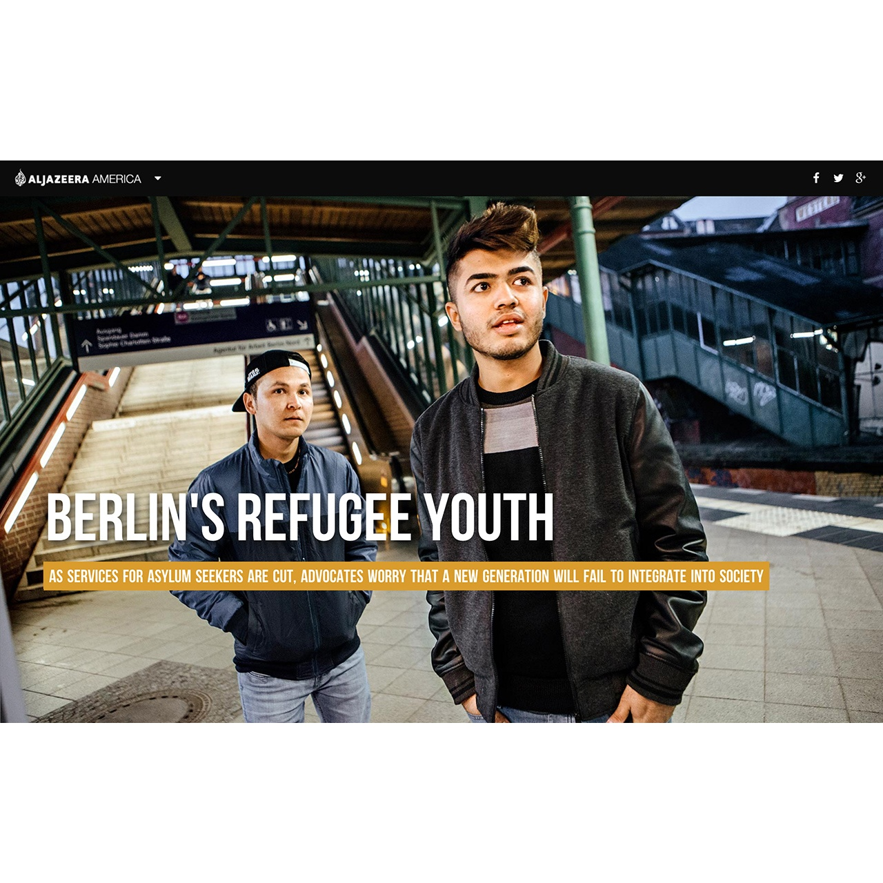 Berlin's Refugee Youth