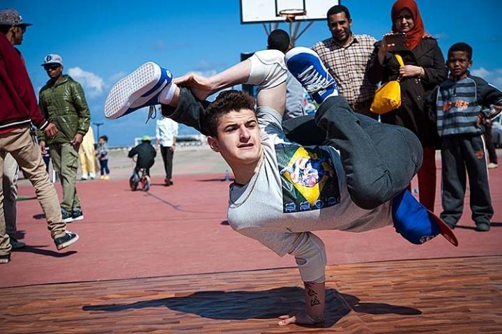 Break Dance in Libya