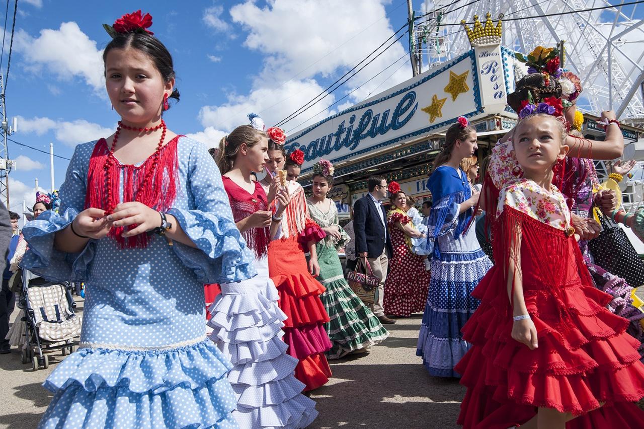 SPAIN, SEVILLE: Feria de Abril Festival