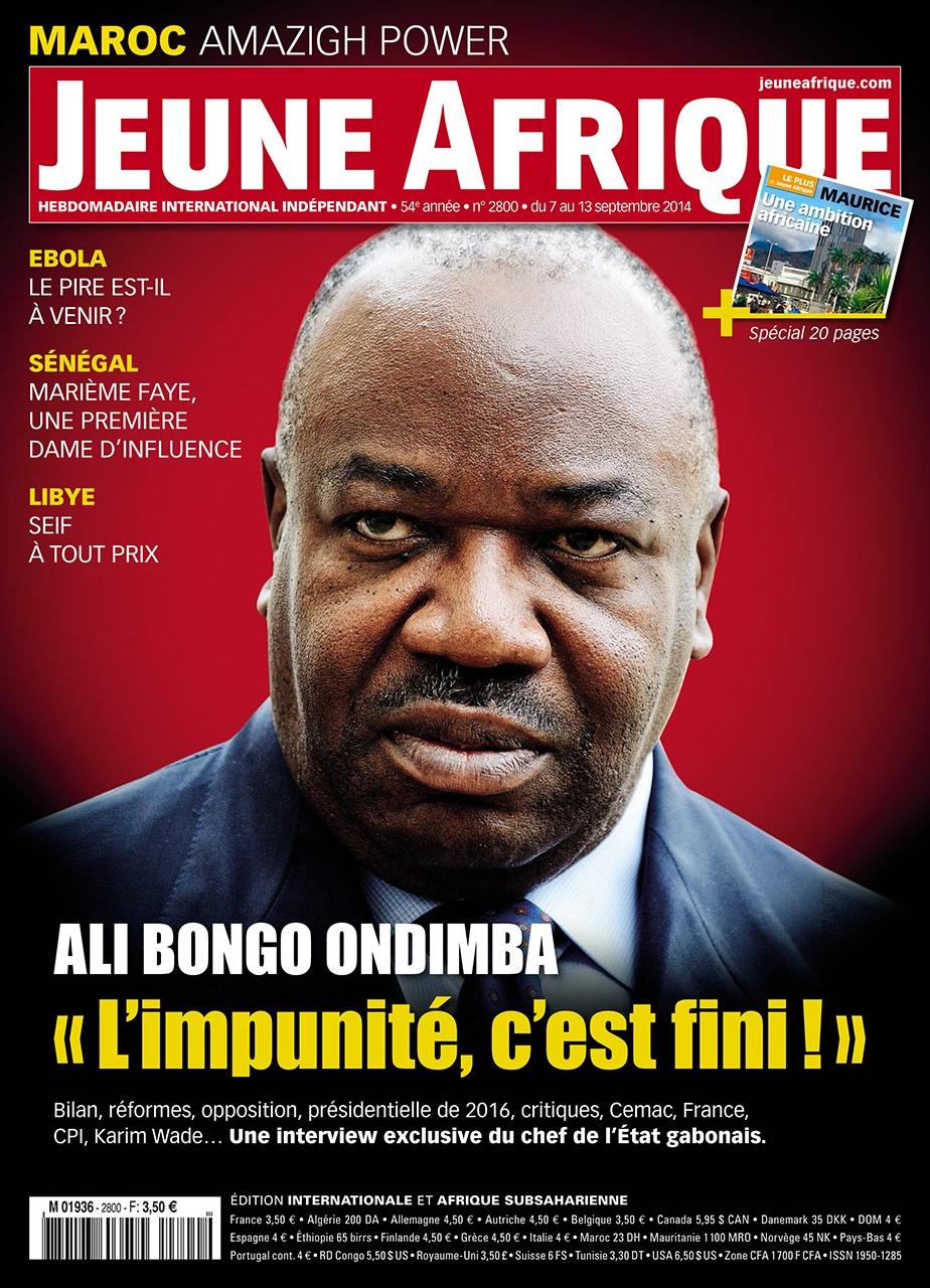 Jeune Afrique September 2014