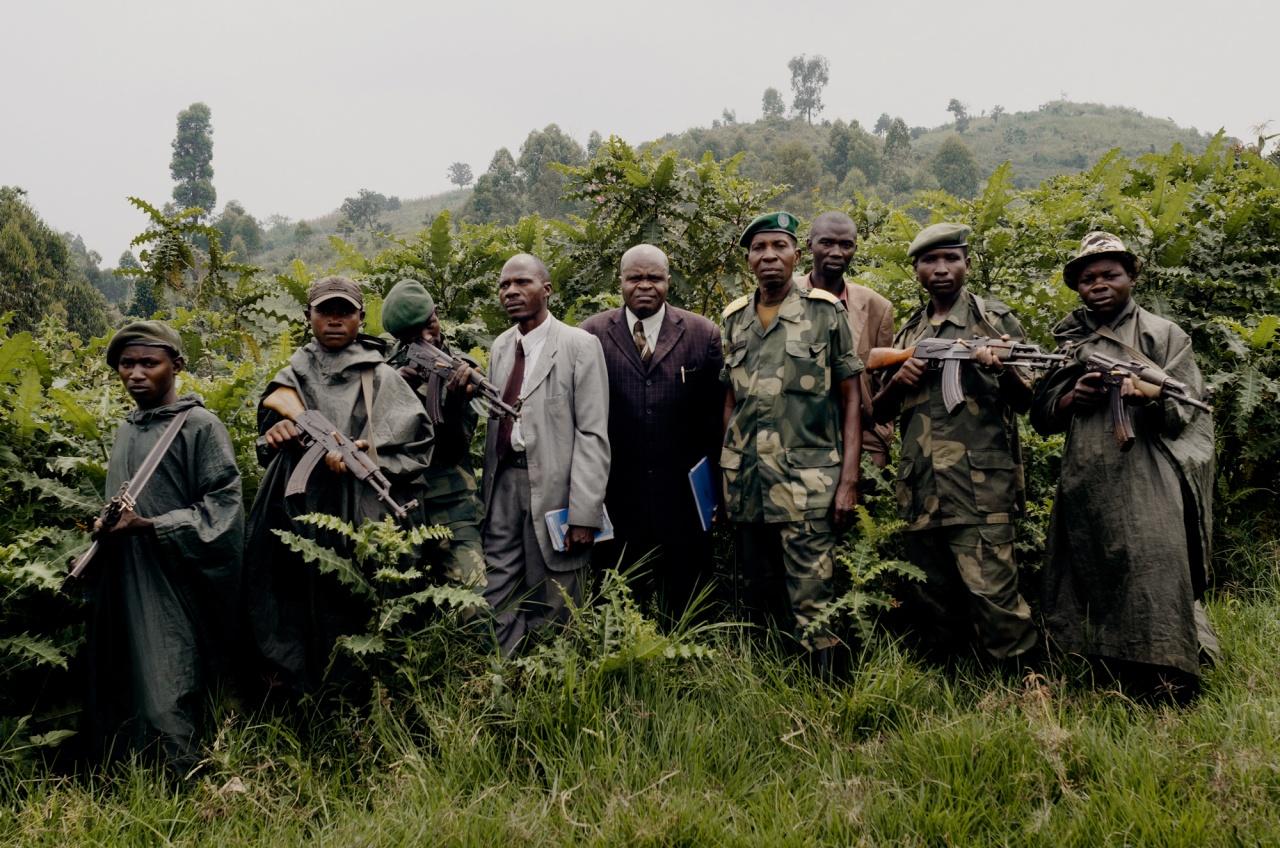 FDLR members inNorth Kivu
