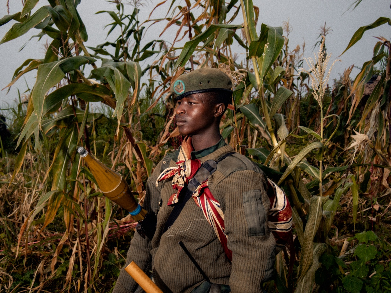 M23 rebel in Eastern DRC