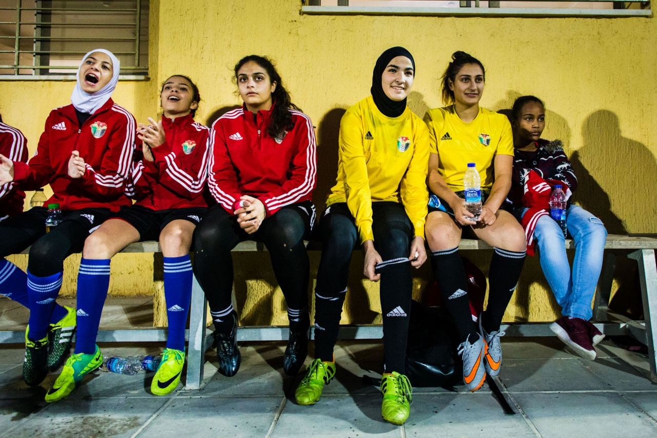 Women's football in Jordan