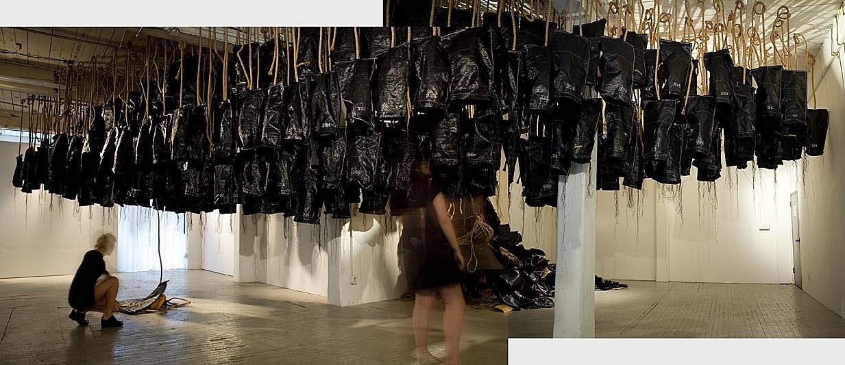 Julia Mandle, art installation documentation