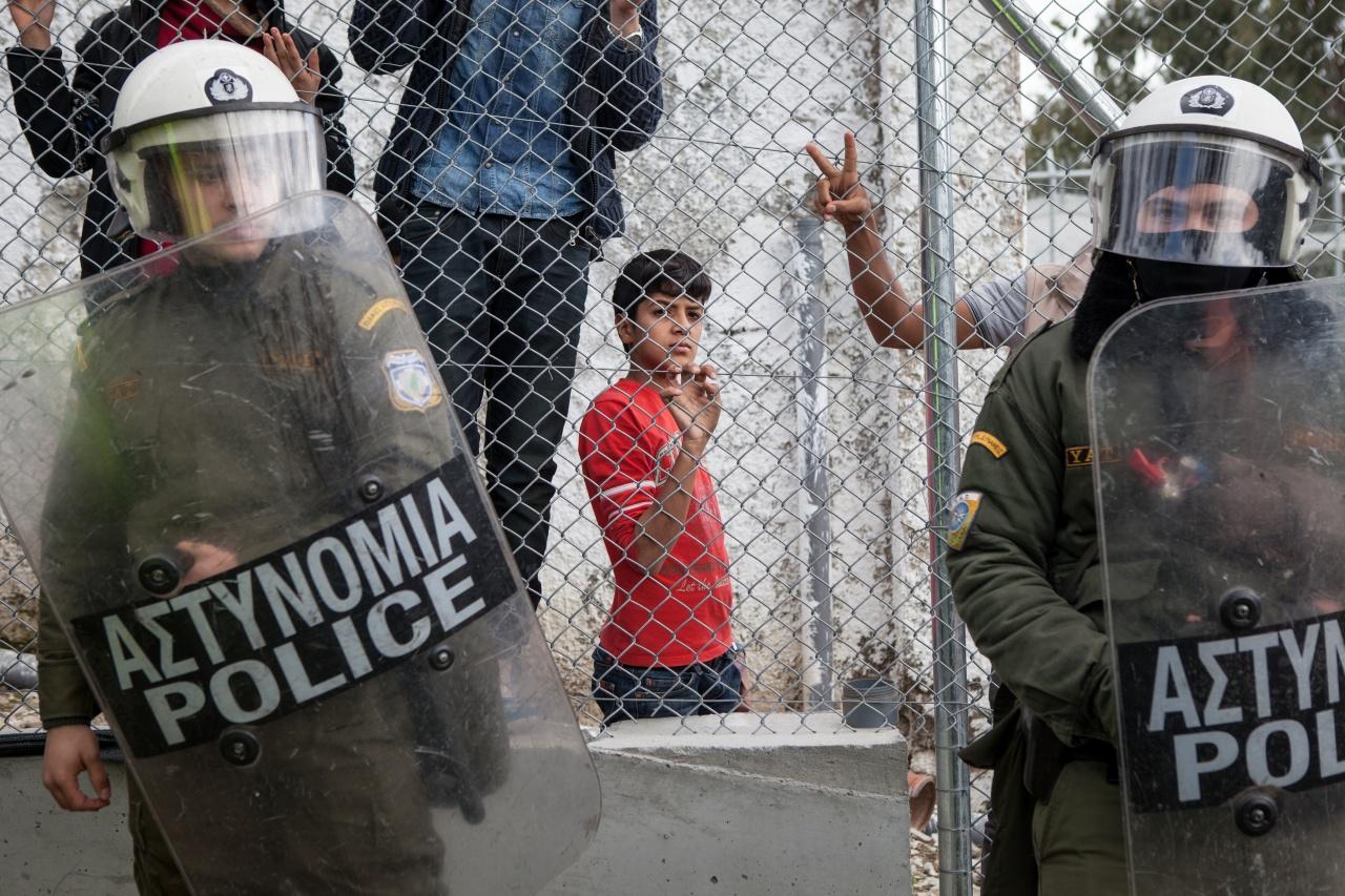 Moria detention camp