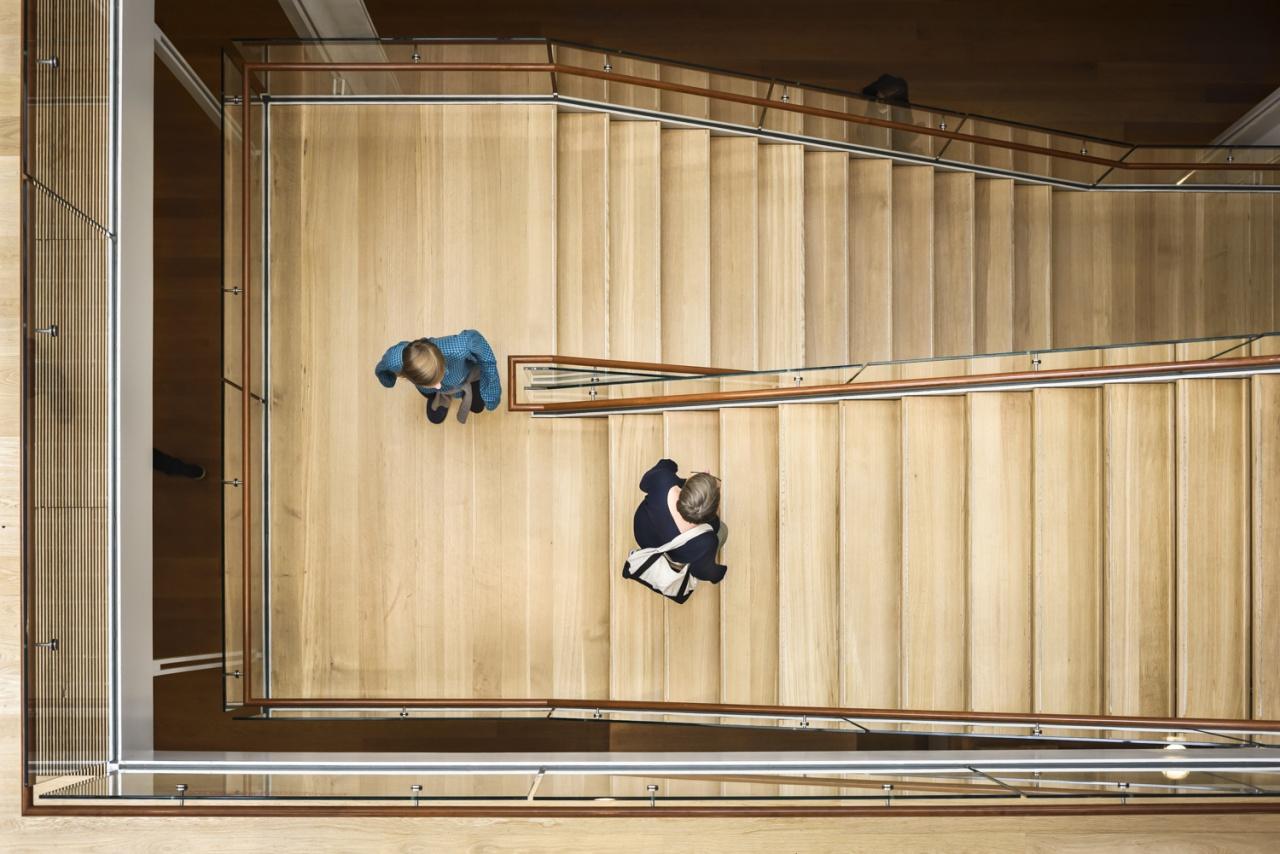Morgan Library staircase_ Renzo Piano