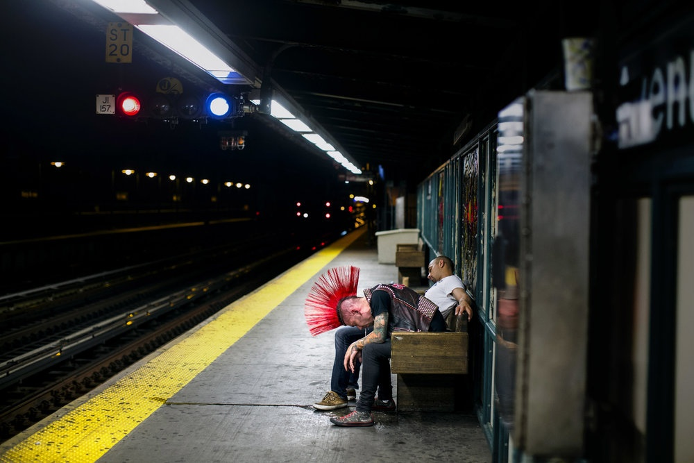 3 A.M. Subway for The Guardian