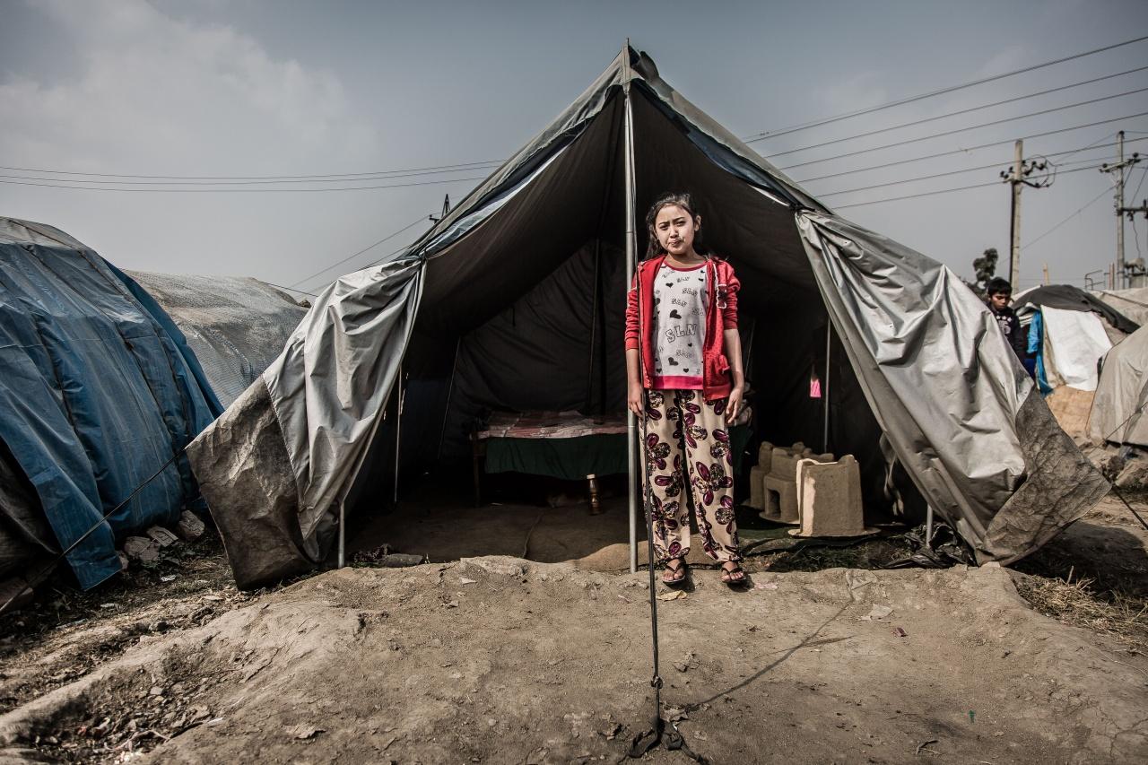 Homeless girl Kathmandu