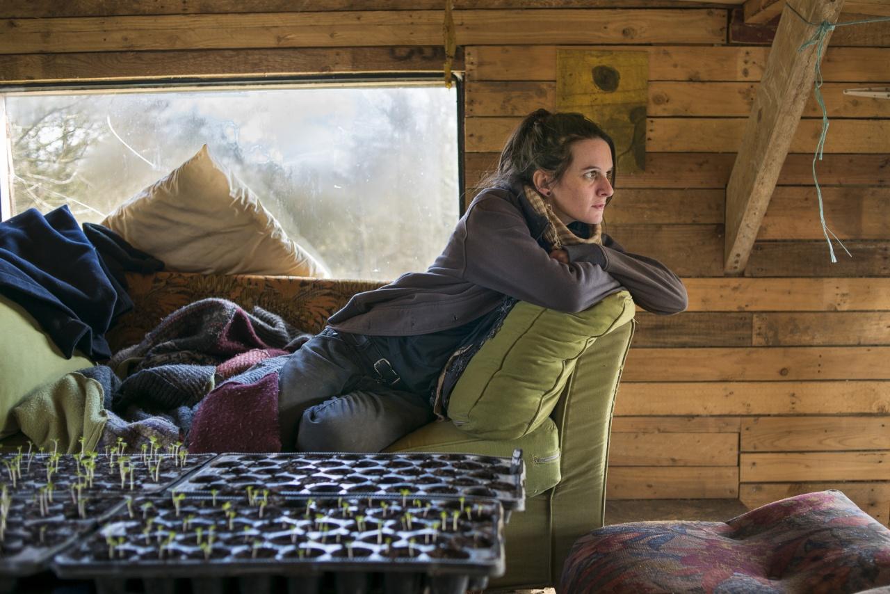 Vero in her living room