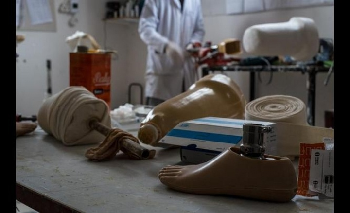 Syrian Prosthetic Clinic Brings Hope