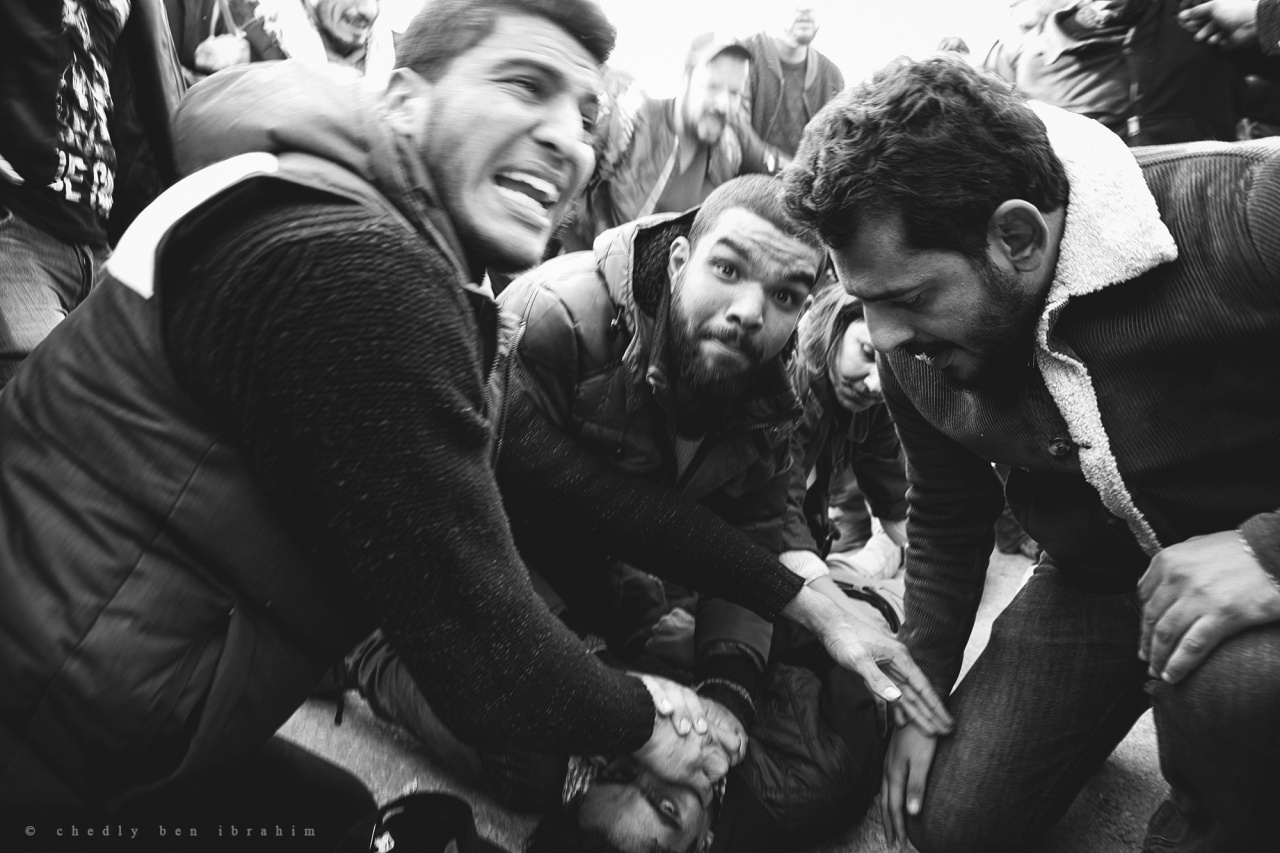 Tunisians protest against austerity