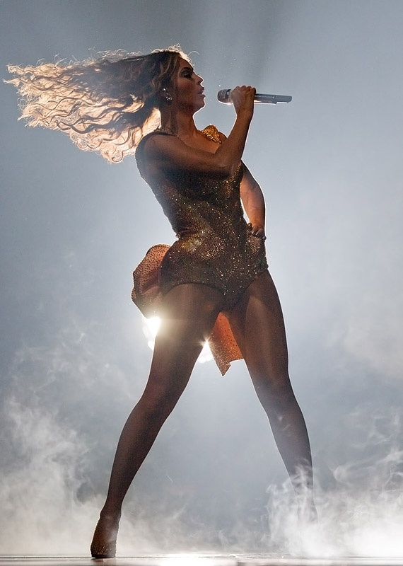 Beyoncé at Madison Square Garden