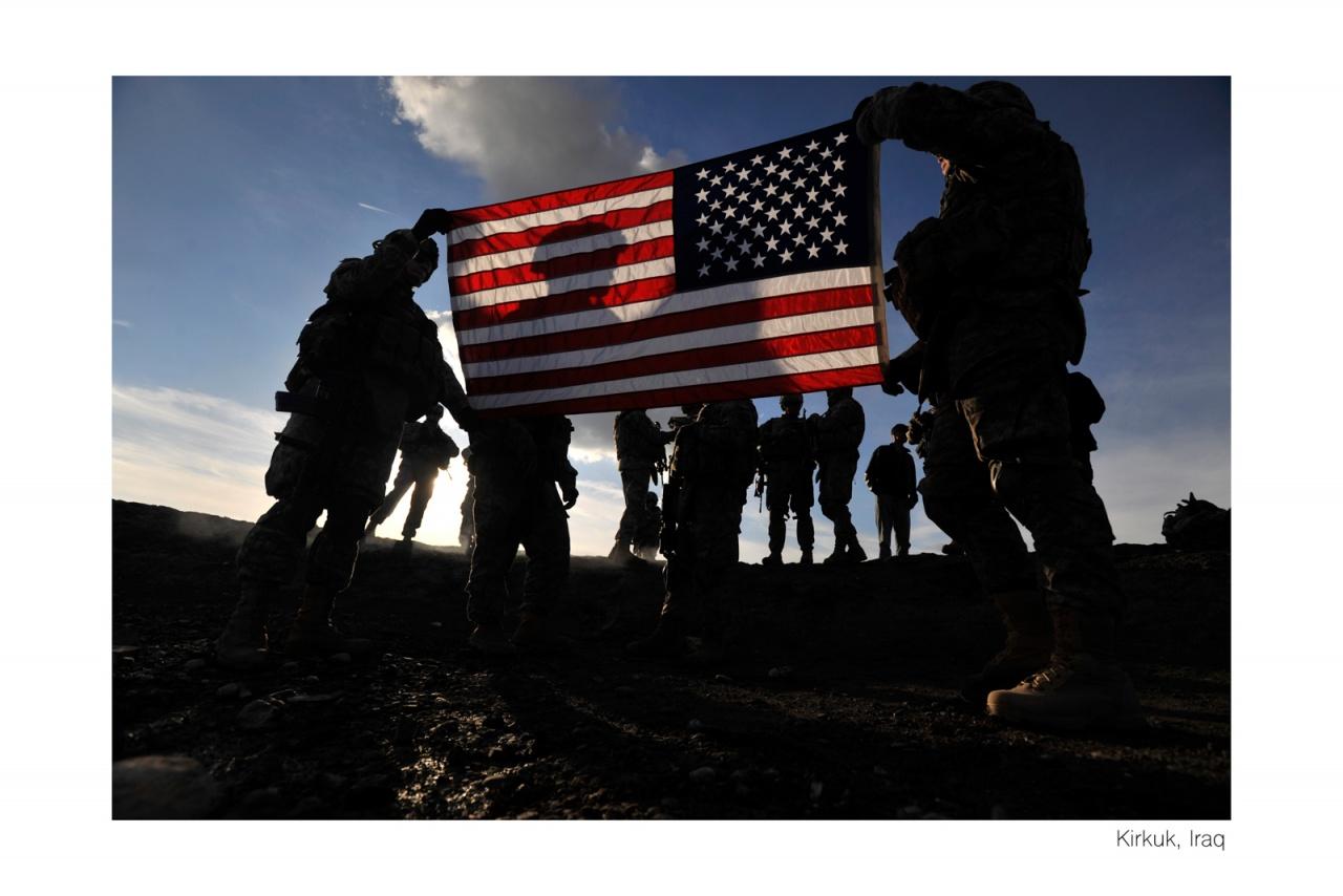 Iraq, Enlistment Ceremony