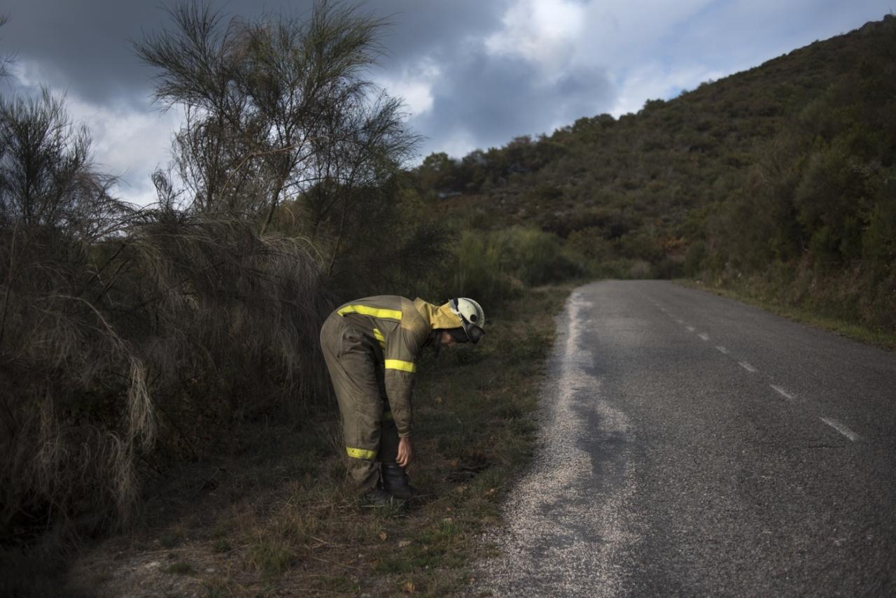 Galicia Wild Fire