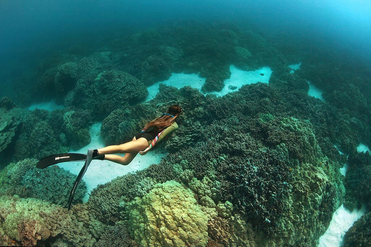 Freediving, Big Island Hawaii