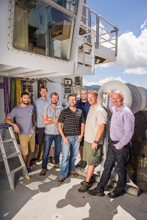 Schmidt Ocean Institute's HROV engineering team