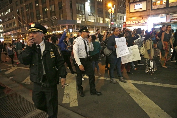 Freddie Gray Protests in New York City